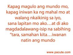 Sad love Quotes Tagalog for you Bisaya Quotes, Tagalog Love Quotes, Sad Love Quotes, Sweet Quotes, Qoutes, Hugot Lines, Cheaters, Save Me, Pinoy