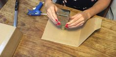 She hot glues a bottle to a piece of cardboard (coolest gift idea ever!) Learn how to make authentic vintage bottle candles with this easy video tutorial. Bottle Candles, Scrapbooking, Homemade Candles, Kitchen Paint, Kitchen Cabinets, Paper Pumpkin, Candle Making, Cool Gifts, Dollar Stores