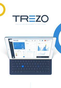 TREZO - Finance Mangement Dashboard on Behance