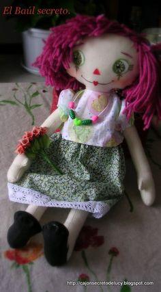 Nenas de trapo - loads more rag dolls to see ♥ love