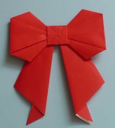 Let's create: Paper Bow Tutorial More