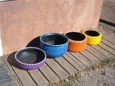 Otra Vuelta Tire Recycling, copyright Robert Archuleta