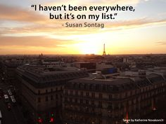 """""""I haven't been everywhere, but it's on my list"""" #travel #quotes #inspiration"""