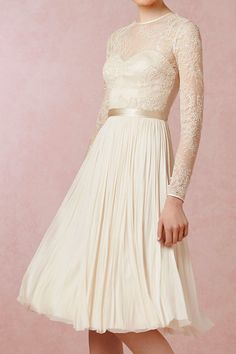 [Waterfall Dress by BHLDN]