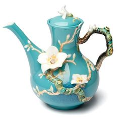Franz - Van Gogh Almond Flower Teapot