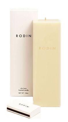 Rodin Candle* I love candles #heston, charmies, charmiesbywendy