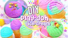 DIY Edible PLAY DOUGH ICE CREAM! - YouTube