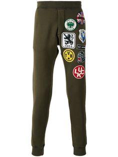 DSQUARED2 Patch Detail Track Pants. #dsquared2 #cloth #pants