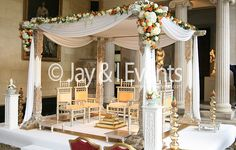 Nandini Wedding Stage Wedding Stage Decorations, Table Decorations, Wedding Mandap, Inspiration, Image, Home Decor, Biblical Inspiration, Decoration Home, Room Decor