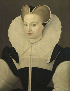 French (?): 'Portrait of a Young Lady' 1580 or after National Gallery