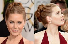 Amy Adams | Loose Braid Up-Style