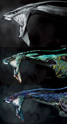 avatar pandora animals - Google Search Alien Creatures, Magical Creatures, Fantasy Creatures, Avatar Films, Avatar Movie, Avatar Animals, Avatar James Cameron, Avatar Tattoo, Stephen Lang