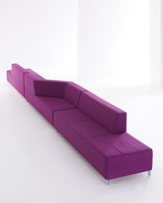 Kontour lounge seating is a great room divider too.