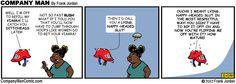 Company Man Comic: Rush Limbaugh gets his!