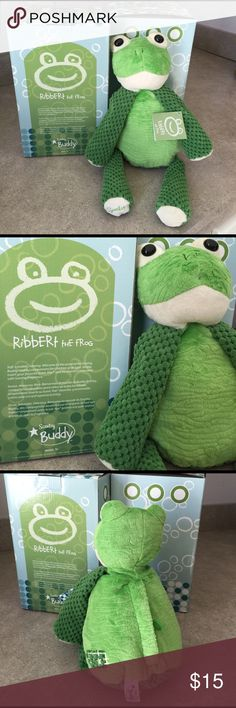 Scents Buddy RIBBERT the Frog Discontinued style Scentsy Buddy, Ribbert. Brand new, in box with tag. Back unzips to use your favorite scented pouch. 2 available!! Scentsy Other