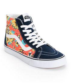 2c1696240f14b6 Star Wars x Vans Sk8 Hi Yoda Aloha Shoes Skate Shoes