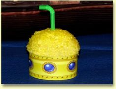Yellow submarine cupcakes. Perfect for a Beatles themed party. Include an 'abbey road' and you're golden!