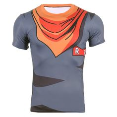 Dragon Ball Z Android 17 Compression Shirt – Otakupicks