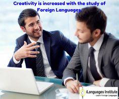Creativity is increased with the study of foreign languages. #Foreignlanguage #Translation #Ilanguage #visaconsultancy #Languageexperts #Translators #vadodara #creativity
