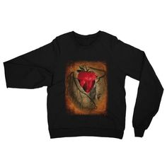 Strawberry Hearts Forever - Unisex Raglan Sweater