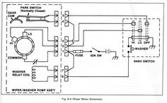 Park Switch And Windshield Wiper Wiring Diagram With Washer Relay Coil In Wiring  Diagram Wiper Motor | Chevy trucks, Electrical diagram, Fuse box | 1980 Ford F 150 Wiper Switch Wiring Diagram |  | Pinterest