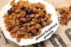 Domácí kvásková granola snadno a rychle, přesně dle vaší chutě