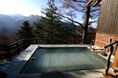 Oku-yamada Onsen, Nagano, Japan 奥山田温泉 満山荘 - 秘境温泉 神秘の湯