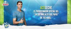 Cristiano Ronaldo te invita a vivir el momento que todo padre espera con ansias. #CR7Bimbo http://bimbo.com.mx/actileche/