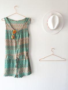 Musthave deze zomer; Korte jumpsuit. Lekker zomers! #jumsuit #playsuit #mint #summer #fashion #women #steegenga