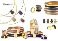 Colección Hilos de Acero  #JoyasEnAcero #JóiasEmAço #SteelJewel #BijouxEnAcier #estilo #style #blog #color #acero #anartxy #joyas