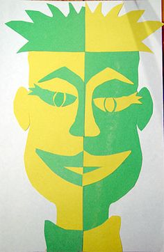 Fourth Grade Art Lesson 11 | Working with Symmetry The Shape of a Face