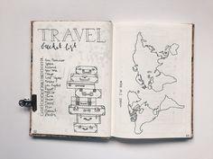8 collections utiles à avoir dans son Bullet Journal – Amand Bullet Journal Voyage, Bullet Journal Travel, Bullet Journal Mood, Bullet Journal Canada, Bullet Journal School, Travel Journals, Art Journals, Bellet Journal, Travel Scrapbook