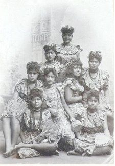 American Samoa is a wonderful example of a culture and a people that, over the years have developed into a diverse structure; the traditional and the modern. A photograph of American Samoa women, dated 1897.