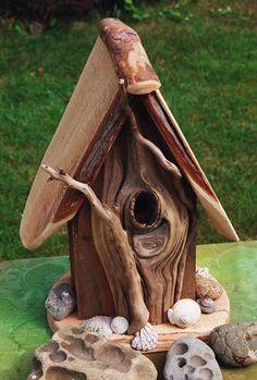 DRIFTWOOD BAY DESIGNS - Driftwood Furniture, Bird Houses, Bat Houses, Pottery