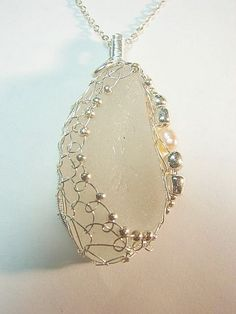Sea+Glass+Jewelry | Sea Glass Jewelry - Genuine Sea Glass Natural Beach Glass Sterling ...