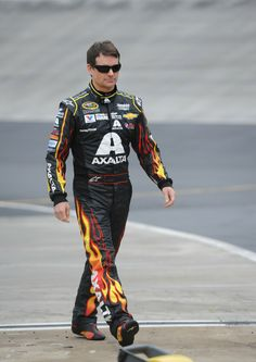 Love those flames! @Jeff Gordon @Hendrick Motorsports @Bristol Motor Speedway & Dragway - Picture courtesy of ©Phil Cavali