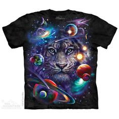 White Tiger Cosmos T-Shirt