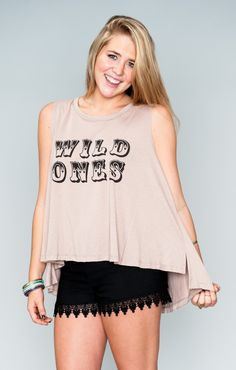 Show Me Your Mumu ~ Jolo Tank ~ Wild Ones Graphic