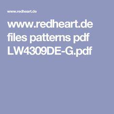 www.redheart.de files patterns pdf LW4309DE-G.pdf