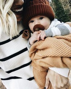 God made Xavier Elias a fall baby for a reason-- this little fella can rock any every shade of brown
