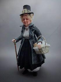 Fairystudiokallies: Osmerda...a witch in 1/12th scale...