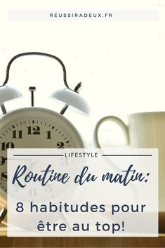Routine du matin: 8 habitudes pour être au top! Miracle Morning, Morning Ritual, 28 Day Challenge, Morning Habits, Health And Wellbeing, Mental Health, Positive Attitude, Healthy Habits, Better Life