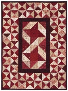 Gathering in Red Quilt Quick Kit   Keepsake Quilting