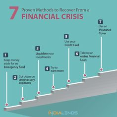 7 Proven Methods to Recover From a Financial Crisis.  Financial hardships can arise at any point of time in our life. While we can't always be prepared for such situations, it is important to plan our finances well to get out easily.