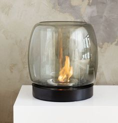 Iittala Kaasa Fireplace 475 mm, Kaasa Fireplace 255 mm, by Ilkka Suppanen   = WANT