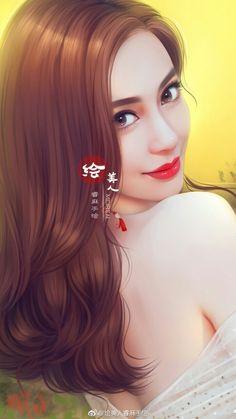 Korean Art, Asian Art, Flame Art, Japanese Drawings, Tumblr Art, Painting Of Girl, Digital Art Girl, Beauty Full Girl, Fantasy Girl