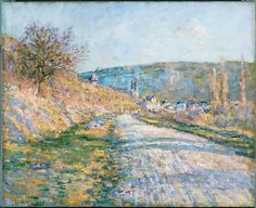 The Road to Vétheuil - Claude Monet — Google Arts & Culture