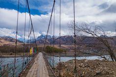 Ganzi Bridge Tibet Overland Route Shangri La To Chengdu Kham Province Travel
