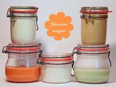 5 verschiedene Saucen für heißen Stein, Fondue etc - Cocktailsauce, Meerettichsauce, Aioli, Kräutersauce, Currysauce - schnelle Saucen.