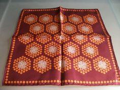 French Gentlemans Silk Hanky Handkerchief Brown & by LaCravate